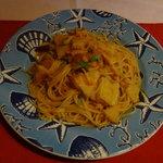 スパッソ - 筍のトマトソース・スパゲティ 1,500円