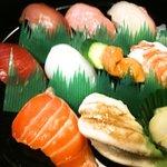 弁慶すし - 椿 1800円