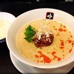 76440272 - 『白胡麻坦々麺』¥800 + ランチタイム無料のライス!