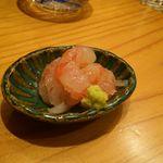 はつね寿司 - 南蛮海老昆布締め