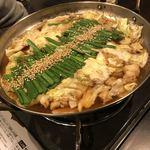 大阪 もつ鍋 PLay - 醤油味の方\(^o^)/