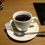 獅子丸 - ドリンクバーからコーヒーを選んだ