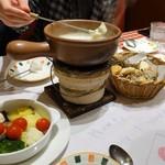 ルージュトマト - cheese fondueいただきます♡