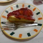 ルージュトマト - イチゴのタルト