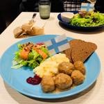 フィンランドキッチン タロ - 北欧ミートボール&デリプレート(1,200円)