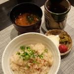 禅紫 - 金目鯛の土鍋ごはん