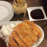 洋食・ワイン フリッツ - ロースカツカレーセット 1,500円(税込)