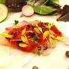 RISTORANTE ALVERO - 料理写真:瀬戸内産真鯛のカルパッチョ
