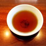 英国紅茶専門店 THE TEA HOUSE  - 最後はほうじ茶も出して頂けます。