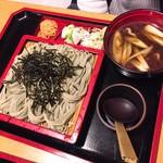 田畑屋 - 鴨ざるそば(1,030円)