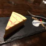 低糖質食専門店 ローカーボキッチン 然 - 低糖質チーズケーキ