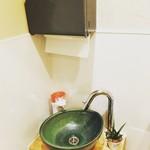 カフェ&バル 東寺家 - お手洗い