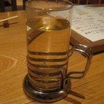ブレス・串焼 - 梅酒のお湯割を飲みました。