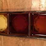 可真人 - 白醤油、醤油、ポン酢