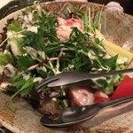 可真人 - 鶏の燻製サラダ