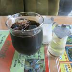 枯山水 - アイスコーヒー 410円