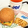 ジェフ - 料理写真:ぬーやるバーガーセット