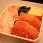 ベントー カフェ ヨンイチ ガーデン - 料理写真:北の朝市海鮮丼