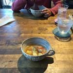 ジャム cafe 可鈴 - 根菜のスープ