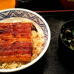 うな政 - うな丼¥880、肝吸い¥130