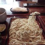 蕎勝人 - 結構麺は長めかな