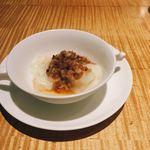 76459398 - 水餃子 ネギ油ソース