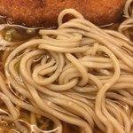 名代 箱根そば - 麺アップ