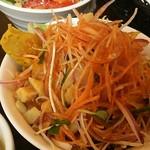 トラットリア シェ ラパン - 彩り良い野菜でドレッシングが美味しかった!