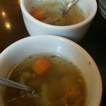 トラットリア シェ ラパン - ことこと野菜スープ。野菜の旨味たっぷり