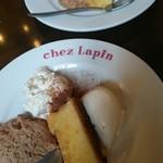 トラットリア シェ ラパン - 自家製ドルチェ4種の盛合せ