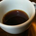 トラットリア シェ ラパン - セルフでコーヒー少し