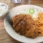 キッチン グラン - メンチカツ680円