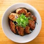 鴨正 - 鴨焼き丼