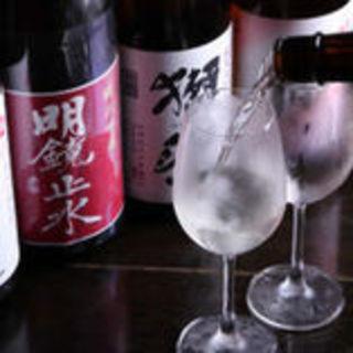 【日本酒50種、果実酒20種以上】全国各地より厳選しました
