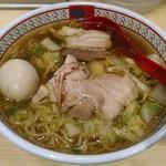 どうとんぼり神座 - 【煮玉子ラーメン】¥730