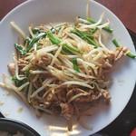 なごみ - 肉ニラもやし炒め(肉ニラもやし炒めランチ)