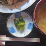 なごみ - 漬物(肉ニラもやし炒めランチ)