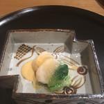 76465221 - ホタテとしろ菜
