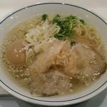 らーめん鱗 - 料理写真:【味玉らーめん 塩】¥850