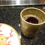 松阪牛 よし田 - ほうじ茶