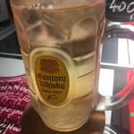 ヤキソバル ダブリュワイ - ハイボール☆★★☆サントリー角