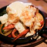 76466379 - 「グリル野菜とハイジのラクレットチーズ」