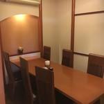白壁カフェ花ごよみ - 【半個室】最大6~8名位