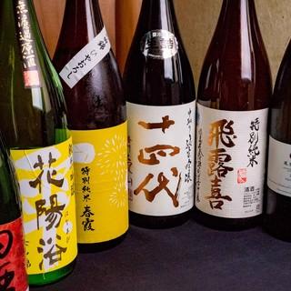 ◆こだわりの地酒・地焼酎◆