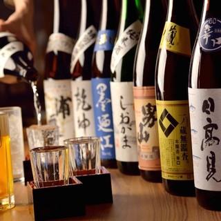 自慢の逸品は、日本酒とご一緒に♪宮城地酒が全30種以上揃う店