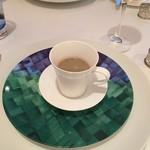 レストラン・モリエール - 牛蒡のスープ