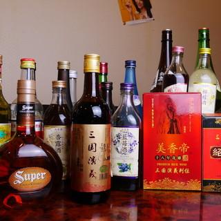 ◎豊富なドリンク◎生ビール・紹興酒・果実酒まで多彩な取り揃え