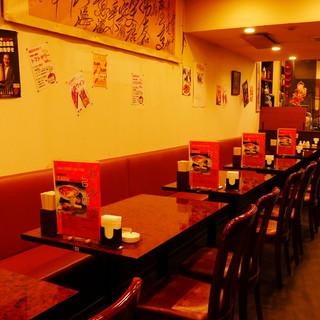◇全60席◇のんびり過ごせる店内でゆったり美味しいお食事を