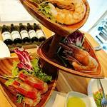 R-SHRIMP - 3種の海老食べ比べ     ¥1706