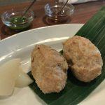 インド料理 マルジョウ - 「スパイシー鶏団子」